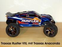 Traxxas Rustler VXL mit Traxxas Anaconda