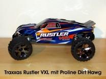 Traxxas Rustler VXL mit Proline Dirt Hawg