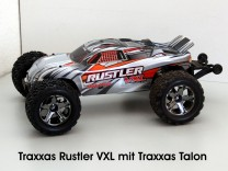 Traxxas Rustler VXL mit Traxxas Talon