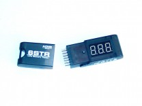 Einfacher LiPo-Tester mit Kunststoffgehäuse: ACME LiPo 6STR