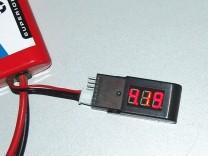 ACME 6STR LiPo-Tester: 6 - Anzeige der Spannung der zweiten Zelle des Akkus