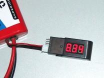 ACME 6STR LiPo-Tester: 2 - Anzeige der Gesamtspannung des Akkus
