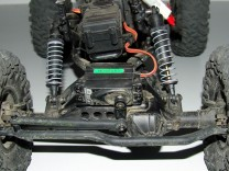 schwergängige Stoßdämpfer beim Axial AX10 Ridgecrest