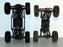 Axial Wraith und AX10 Ridgecrest im Vergleich