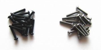 Schrauben aus hochfestem Stahl und Edelstahl