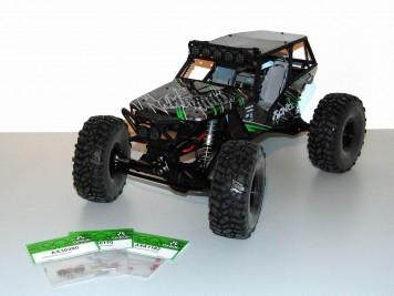 Axial Wraith: Teile für den Umbau auf ein Front-Differentialgetriebe