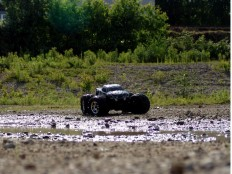 """Traxxas E-Maxx Dual Titan 775 auf der """"Seenplatte"""""""