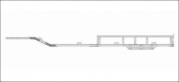 Plan Trailer Traxxas Spartan Chassis Seitenansicht