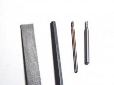 Schlüsselfeilen und Fräsaufsätze für Dremel
