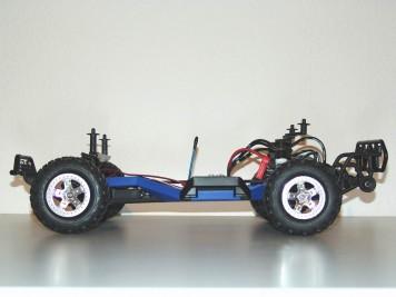 Traxxas Slash mit LCG-Chassis