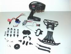Teile für den Umbau des Traxxas Slash 2WD