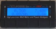 Wattmeter: Anzeige des gesamten Stroms in Amperestunden (Ah)