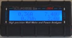 Wattmeter: Anzeige der Messergebnisse