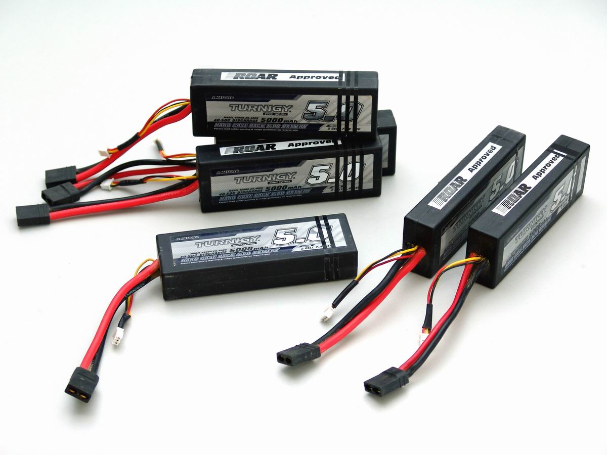 Turnigy 2S2P 5000mAh 40-50C Hardcase