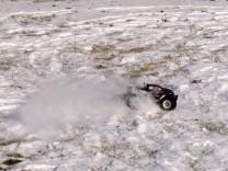 HPI Savage XS Flux im Schnee 13