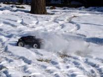 HPI Savage XS Flux im Schnee 2