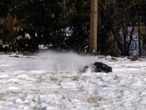 HPI Savage XS Flux im Schnee 3