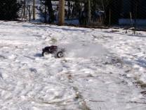 HPI Savage XS Flux im Schnee 6