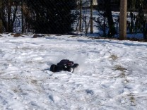 HPI Savage XS Flux im Schnee 8