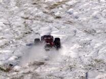 HPI Savage XS Flux im Schnee 9