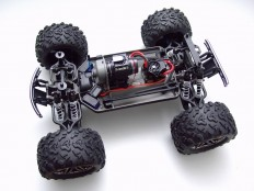Chassis Traxxas E-Maxx Brushless Edition