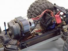 Traxxas E-Maxx - Chassis mit Schaltgetriebe
