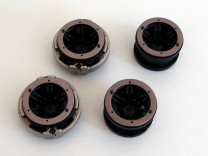 Axial Rockster Beadlocks mit Axial Internal Wheel Wight Rings und Inserts