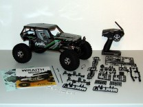 Lieferumfang des Axial Wraith RTR