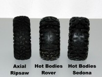 Axial Ripsaw, Hot Bodies Rover und Hot Bodies Sedona