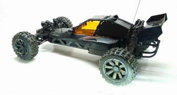 HPI Baja 5B Flux - Karosserie Plasti Dip schwarz matt