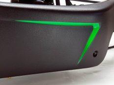 Triton Blade Karosserie mit Plasti Dip - Detail